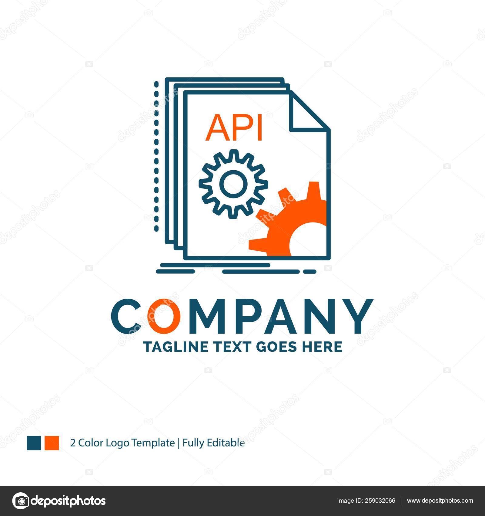 App Di Design api, app, coding, developer, software logo design. blue and