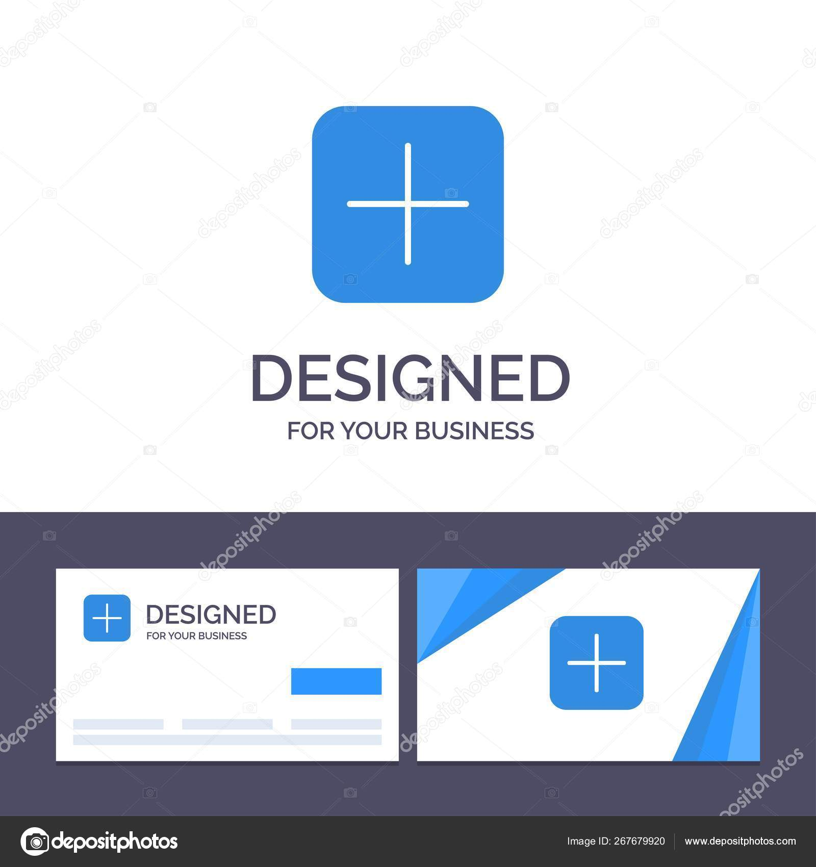 Creative Business Card and Logo template Instagram, Plus, Sets