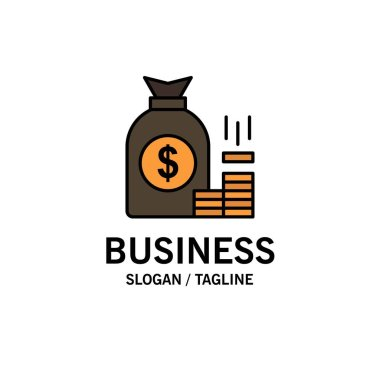 Money, Bag, Bank, Finance, Gold, Savings, Wealth Business Logo T