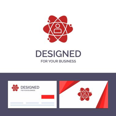 Creative Business Card and Logo template Development, Growth, Hu