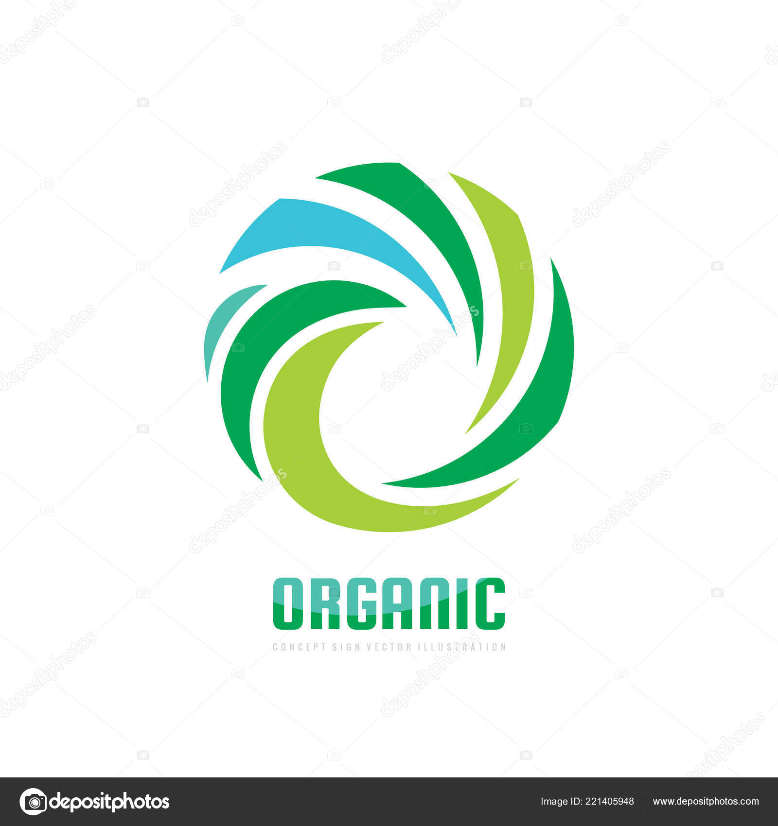 Nature concept business logo template vector illustration abstract nature concept business logo template vector illustration abstract green leaves stock vector cheaphphosting Images