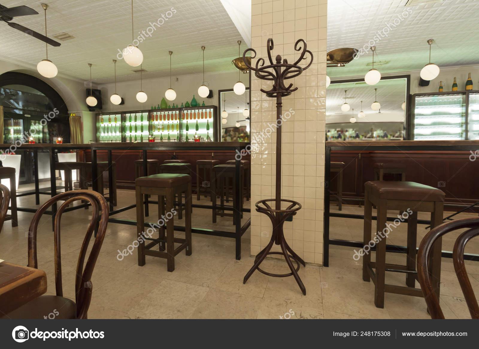 Stylish Modern Design Cafe Bar Vintage Style Stock Photo C Arizanko 248175308
