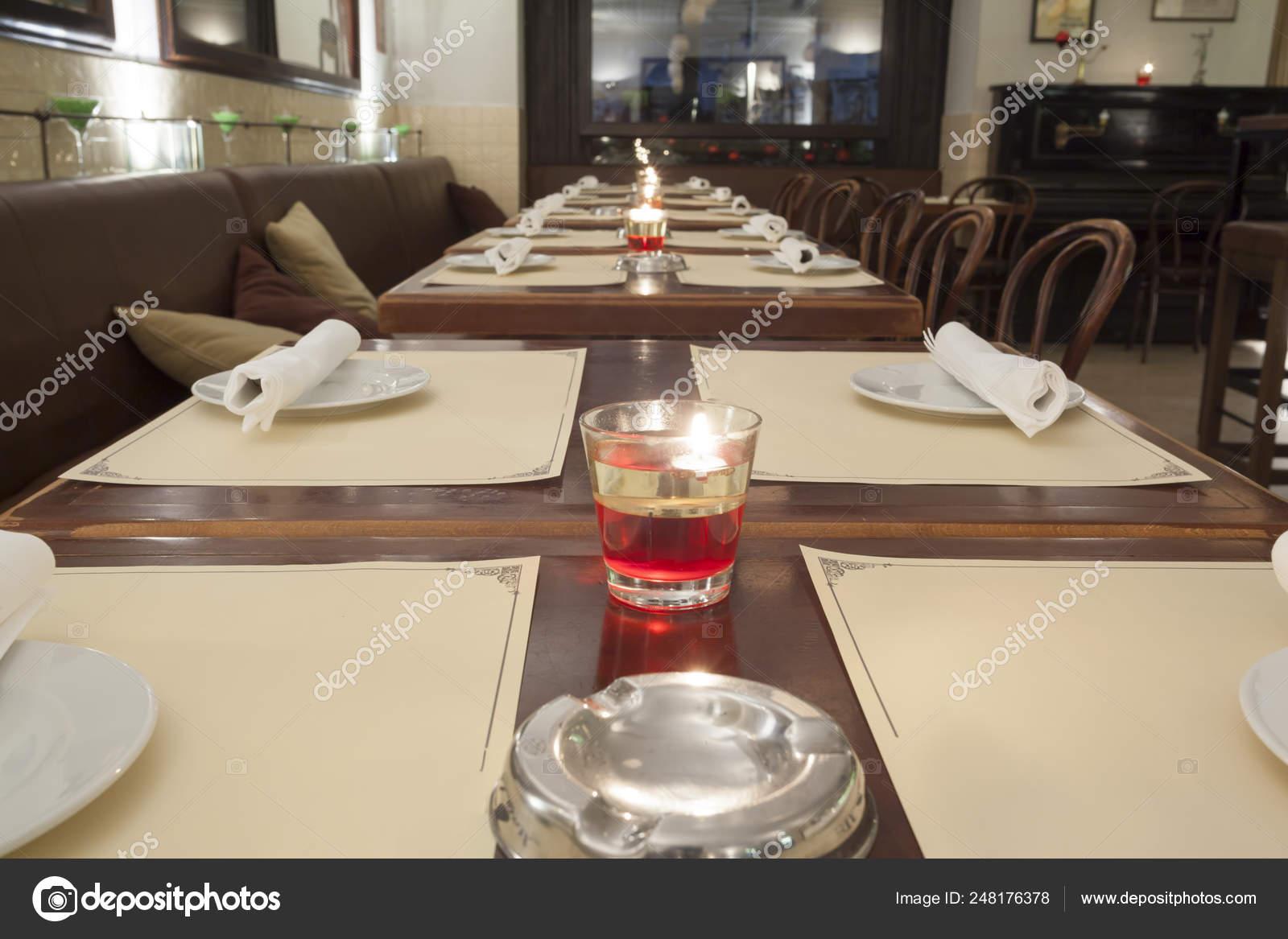 Stylish Modern Design Cafe Bar Vintage Style Stock Photo C Arizanko 248176378