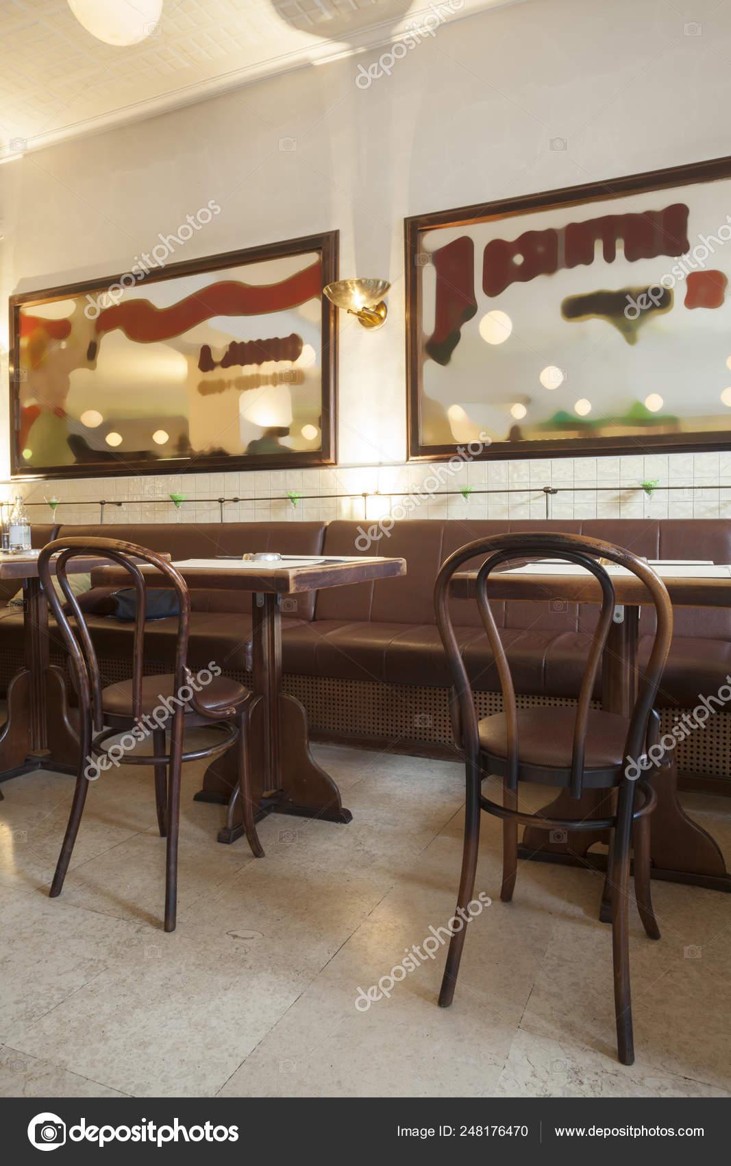 Stylish Modern Design Cafe Bar Vintage Style Stock Photo C Arizanko 248176470