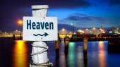 Fényképek A mennybe utcatábla