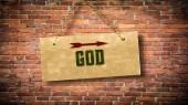 Fényképek Fali jele, hogy Isten