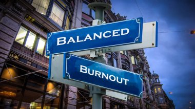 Street Sign Balanced vs Burnout