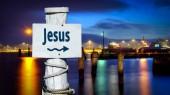 Fényképek Jézus utcatábla