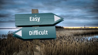 Sign Easy vs Difficult