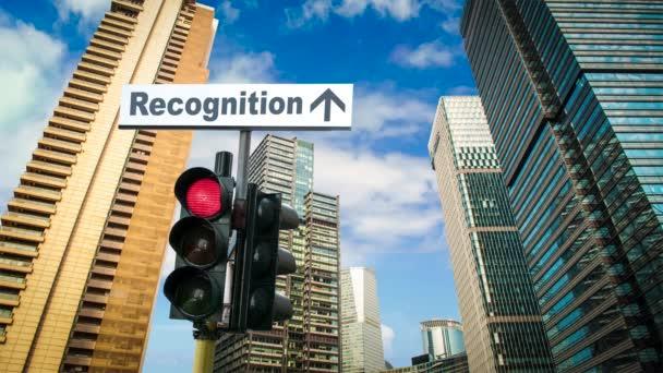 Ulice podepsat způsob rozpoznávání