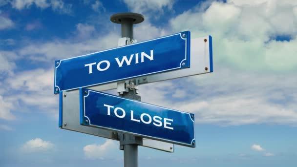 Značení k vítězství ztratit