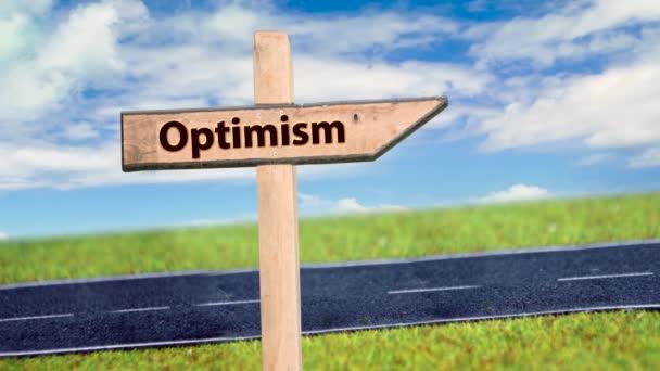 Utcai aláírás az optimizmushoz