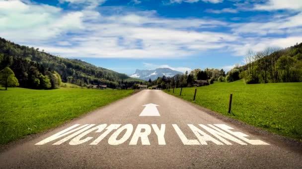 Ulice Podepsat cestu k vítězství Lane