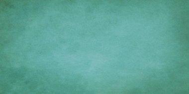 Green wide grunge effect texture.