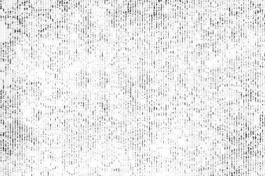Halftone monochrome grunge vertical lines texture.
