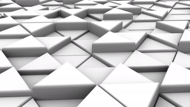 Pozadí z trojúhelníků. Abstraktní, pozadí, 2 v 1, loop, vytvořené ve 4k, 3d animace