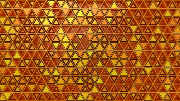 Background of Triangles. Abstract background, 2 in 1, loop, created in 4K, 3d animation