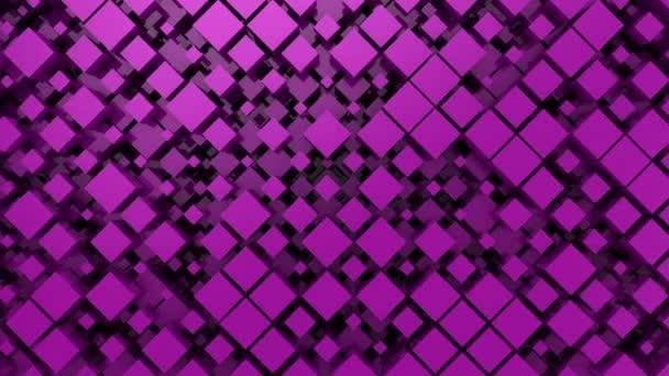 Hintergrund der Boxen. abstrakter Hintergrund, 2 in 1, Loop, erstellt in 4k, 3D-Animation