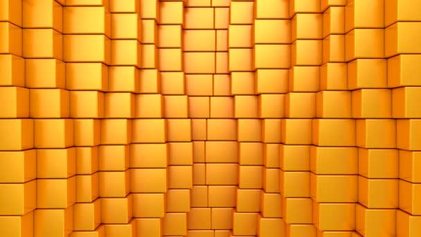 Krabice ve tvaru A. Abstraktní pohyb, smyčka, 4 v 1, 3d vykreslení, rozlišení 4k