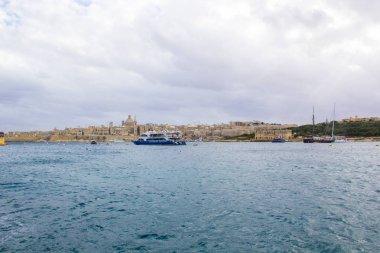 Panorama of Valletta ,Malta, sea and beautiful Nature views