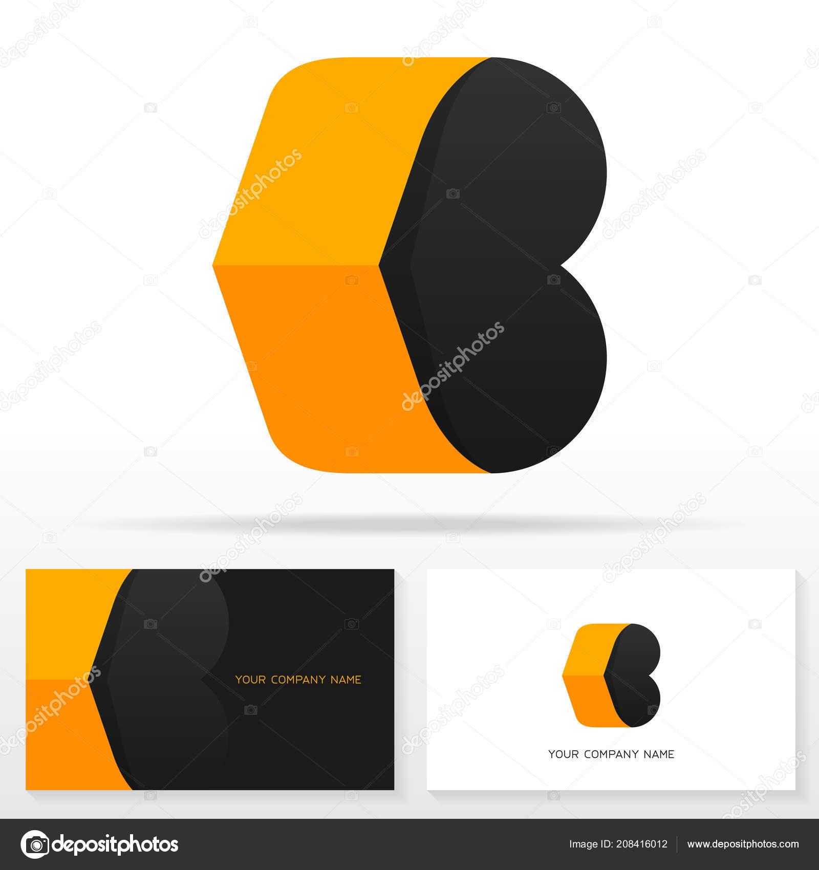 Letter Logo Design Business Card Templates Vector Illustration