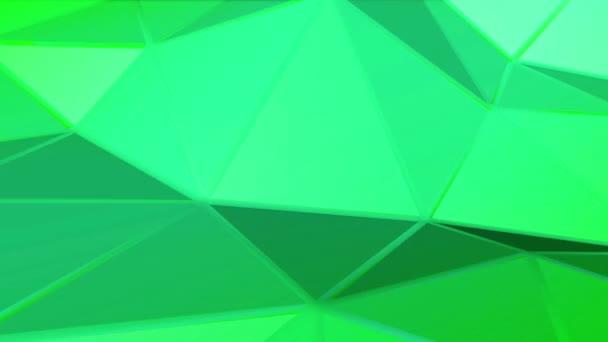 deformující zvlněné zelené plochy. abstraktní pozadí. 3D vykreslování