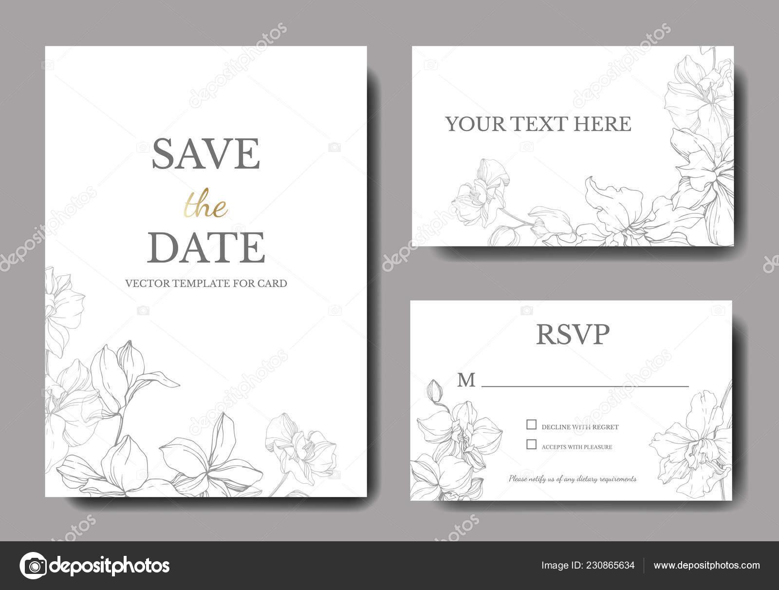 Partecipazioni nozze con bordi decorativi floreali bei for Bordi decorativi