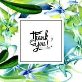 Modrá vzácné orchideje. Květinové botanické květin. Divoký jarní listové wildflower izolován. Sada akvarel pozadí obrázku. Akvarel, samostatný výkresu módní aquarelle. Frame hranice ozdoba náměstí.