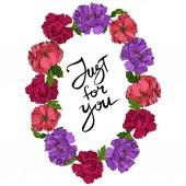 Květinové botanické květiny. Divoké květinové listy. Ryté inkoustové kresby. Orámovaná hranatá hranice.