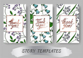 Vector Wildflowers botanical flowers. Black and white engraved ink art. Wedding background card decorative border.
