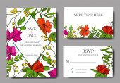 Vector Tropical floral botanical flower. Engraved ink art. Wedding background card floral decorative border.