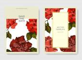 Vektor rózsa virágos botanikai virágok. Fekete-fehér vésett tinta művészet. Esküvői háttér kártya dekoratív határ.