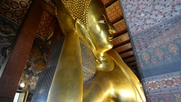 Velké ležící Buddha, Wat Pho, Bangkok, Thajsko