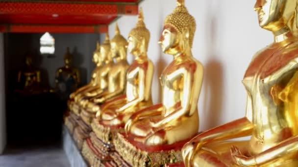 Buddhista templom, Wat Pho Bangkokban, Ázsia Thaiföld