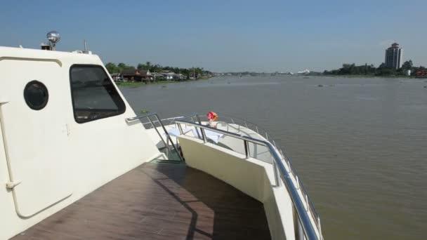 Approach amazing Chao Phraya River in Bangkok