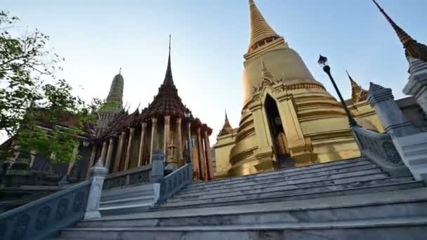 4K View of Wat Phra Kaew (Temple of the Emerald Buddha)