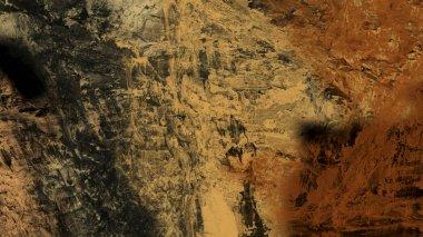 digital illustration of movement terrain abstract background