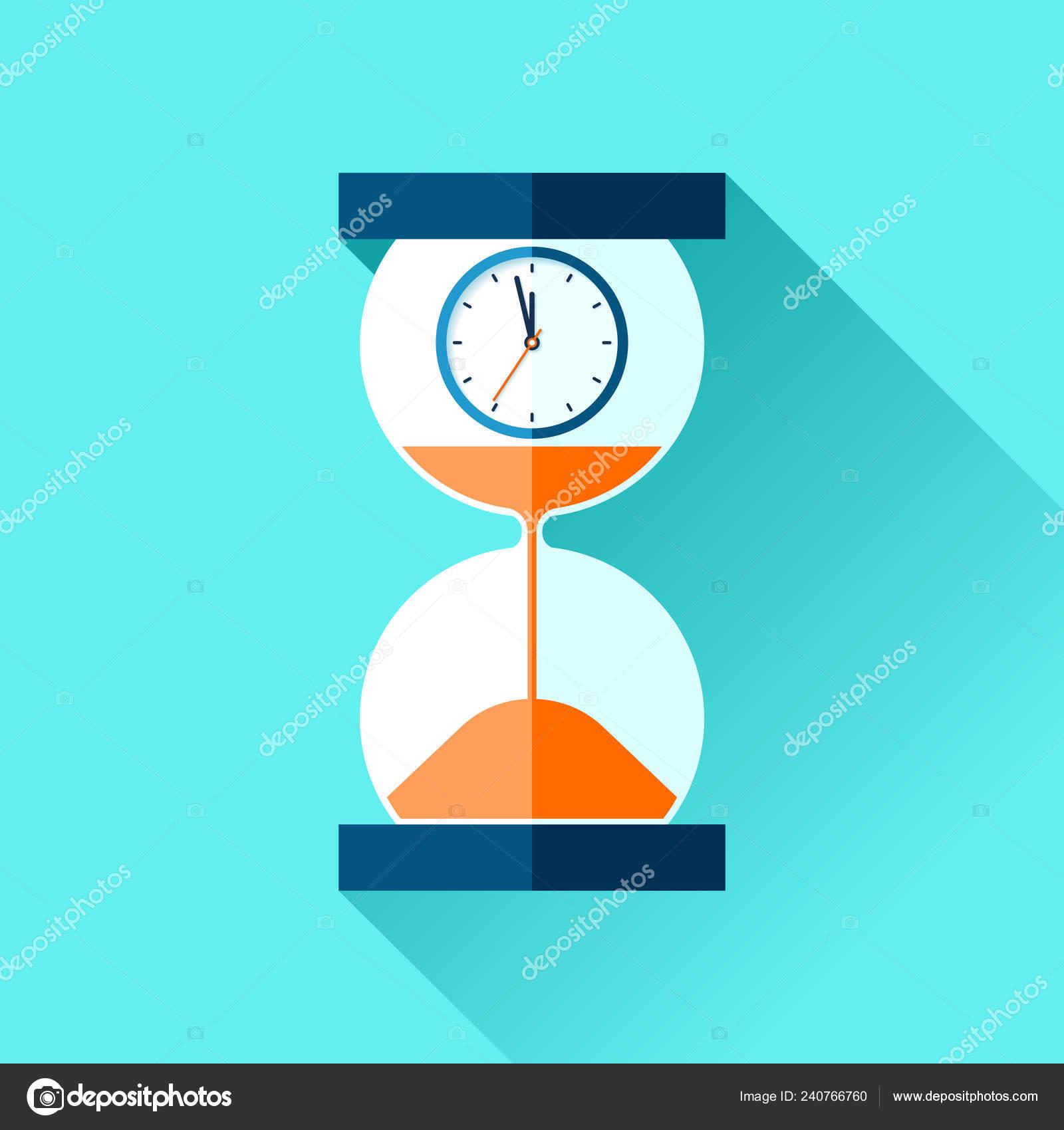 103741c9899 Ampulheta Ícones Relógio Analógico Estilo Simples Temporizador ...