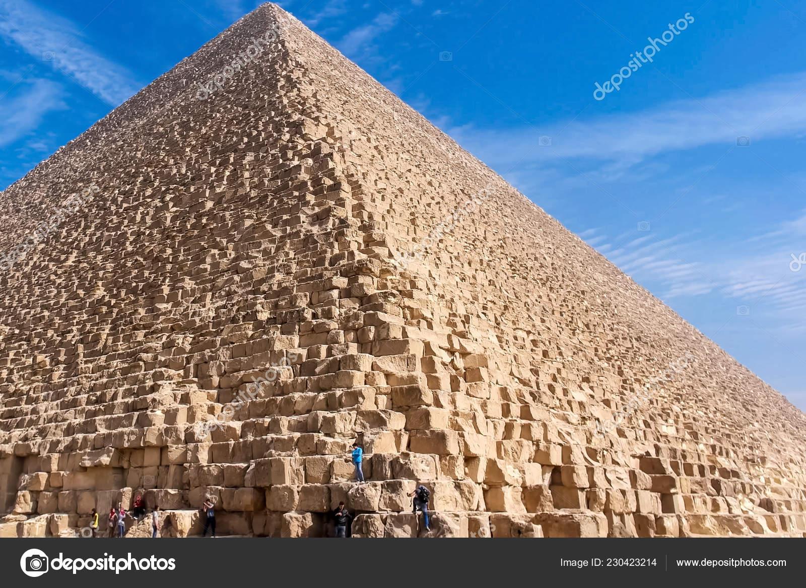 Pyramids Giza Great Pyramids Egypt Seventh Wonder World