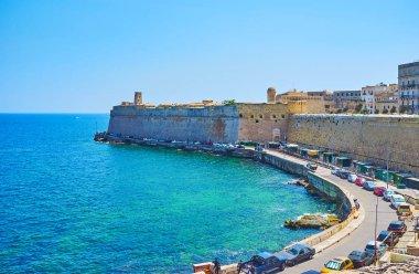 Valletta defensive walls, Malta