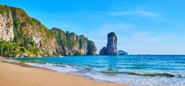 Walk the Monkey beach in Ao Nang, Krabi, Thailand