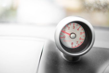 Vehicle dashboard gauge - RPM - revolutions per minute