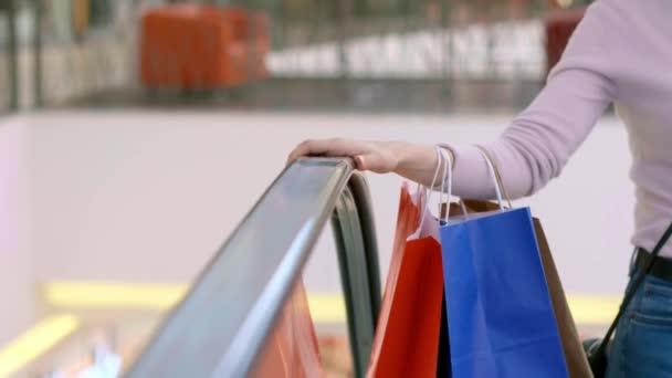 Velké nákupy v nákupním středisku