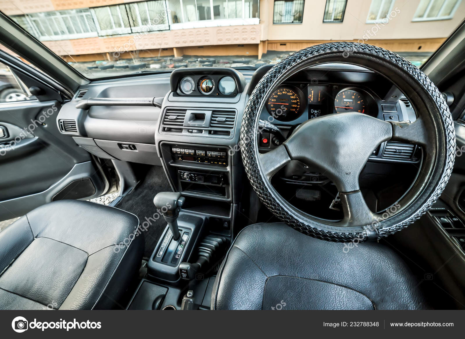 Bright Photo Dashboard Car Black Salon Stock Editorial Photo C Nicola Dj Mail Ru 232788348
