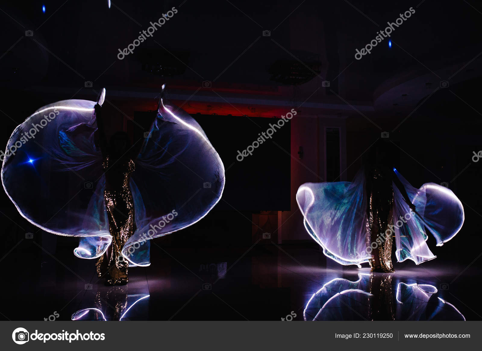 Led Movement Show Night — Lamp Light Dancers Suits Stock Jc3KT1luF5