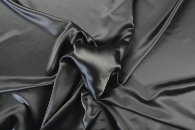 Fabric gray heart shaped balloon stock vector