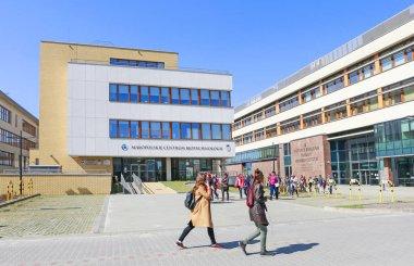 KRAKOW,POLAND - APRIL 11, 2018: The Jagiellonian University.  Mo
