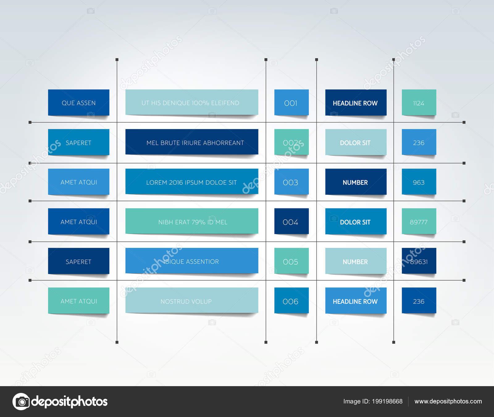 スケジュール プランナー インフォ グラフィック デザイン テンプレート