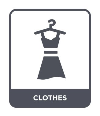 clothes icon in trendy design style. clothes icon isolated on white background. clothes vector icon simple and modern flat symbol.