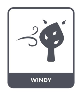 windy icon in trendy design style. windy icon isolated on white background. windy vector icon simple and modern flat symbol for web site, mobile, logo, app, UI. windy icon vector illustration, EPS10.